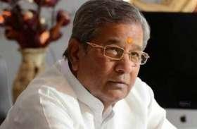 घनश्याम तिवाड़ी ने दिए कांग्रेस में शामिल होने के संकेत, मार्च में होगा अंतिम फैसला