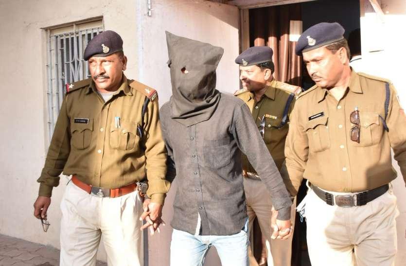 लूट के आरोपी को पुलिस ने धर दबोचा