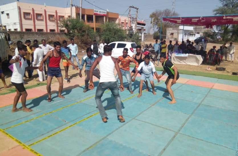 शबरी जयंती के उपलक्ष्य में हुई कबड्डी में पोखरदा की टीम ने पहना जीत का सेहरा