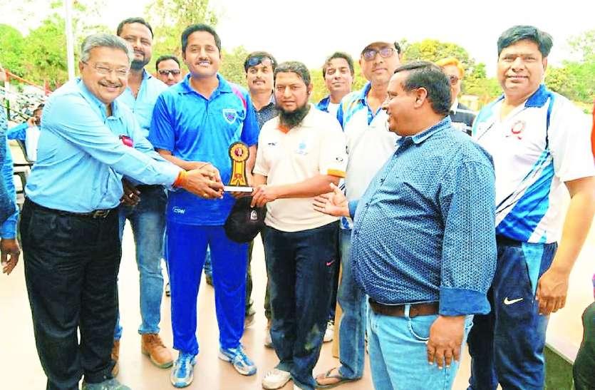 रेलवे खेल मैदान पर दिख रहा जोश: पहली हैट्रिक जीआरपी के खिलाड़ी ने लगाई