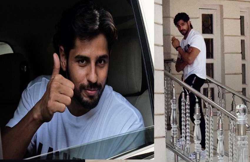 Sidharth Malhotra Spotted outside of Ekta Kapoor HouseSidharth Malhotra Spotted outside of Ekta Kapoor House