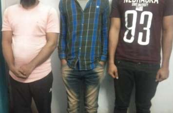 चोरी का खुलासा: साढ़े 13 किलो चांदी बरामद, तीन गिरफ्तार