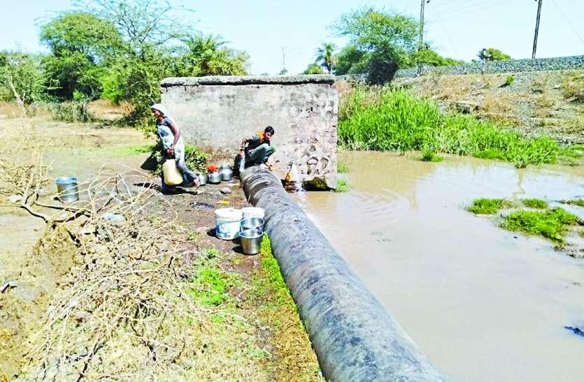 शहर में अभी से जलसंकट: जाने इन क्षेत्रों में पांच दिन से नहीं मिला पीने का पानी