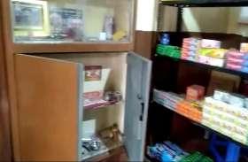 video story : चोर गैंग सक्रिय, एक ही रात में तीन दुकानों के तोड़े ताले