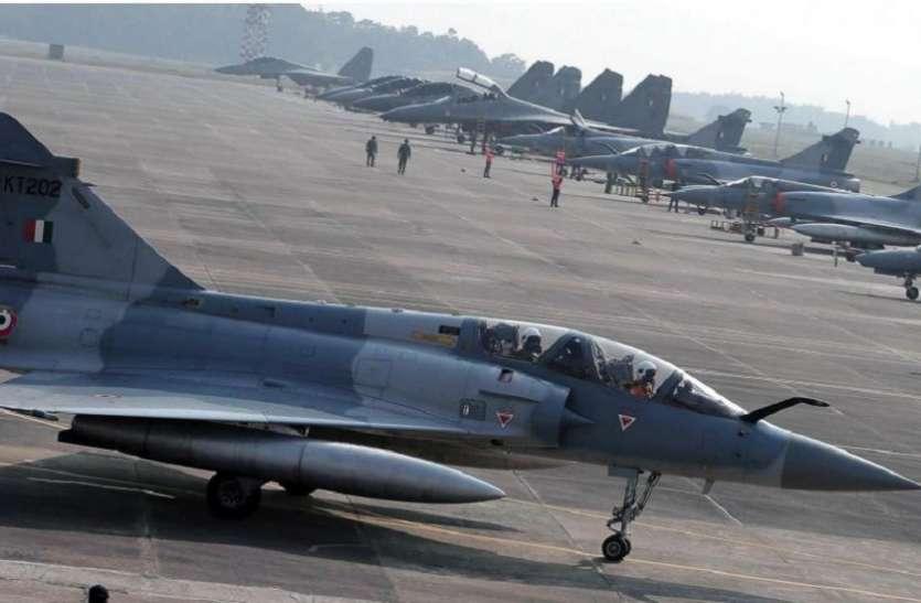वायुसेना की बड़ी तैयारी, लड़ाकू स्क्वैड्रन की क्षमता में किया बड़ा इजाफा