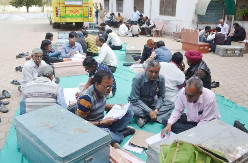 47 परीक्षा केंद्रों के लिए वितरित की गई परीक्षा सामग्री