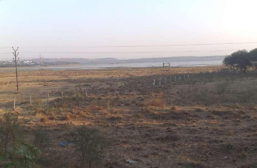 सीहोर नाके की ओर से सूखा, मार्च से बढ़ सकती है पानी की किल्लत