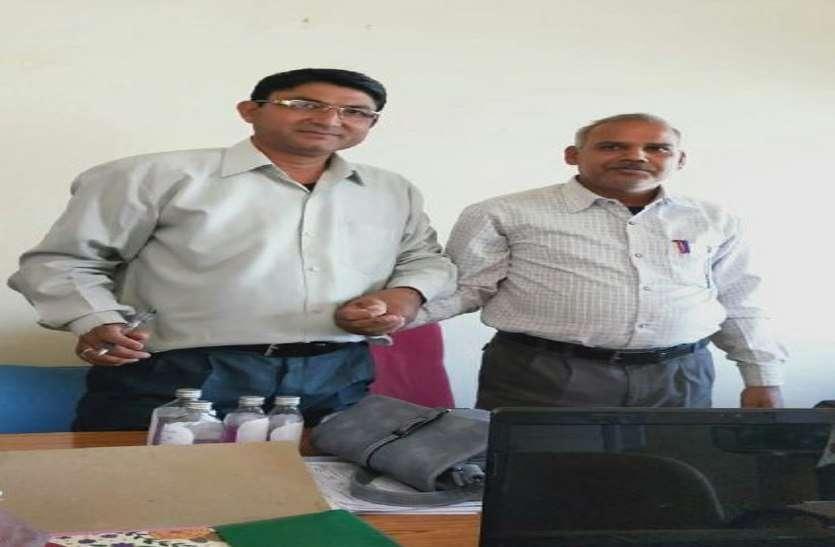 2500 रुपए की रिश्वत लेते आइटीआई अधीक्षक गिरफ्तार