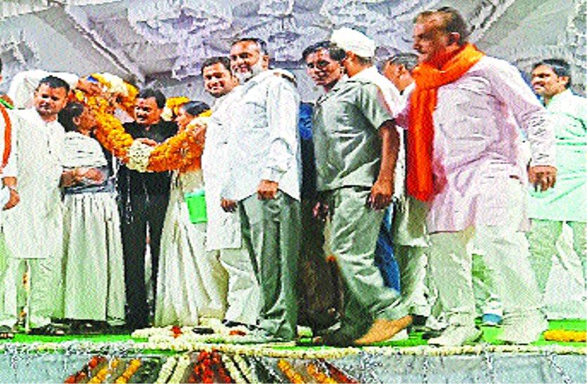 केंद्र में कांग्रेस सरकार आने पर राम मंदिर हम बनवाएंगे, भाजपा केवल राजनीति करती है