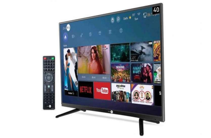 भारत में 40 इंच वाला नया Smart TV किया गया लॉन्च, कीमत बेहद ही कम