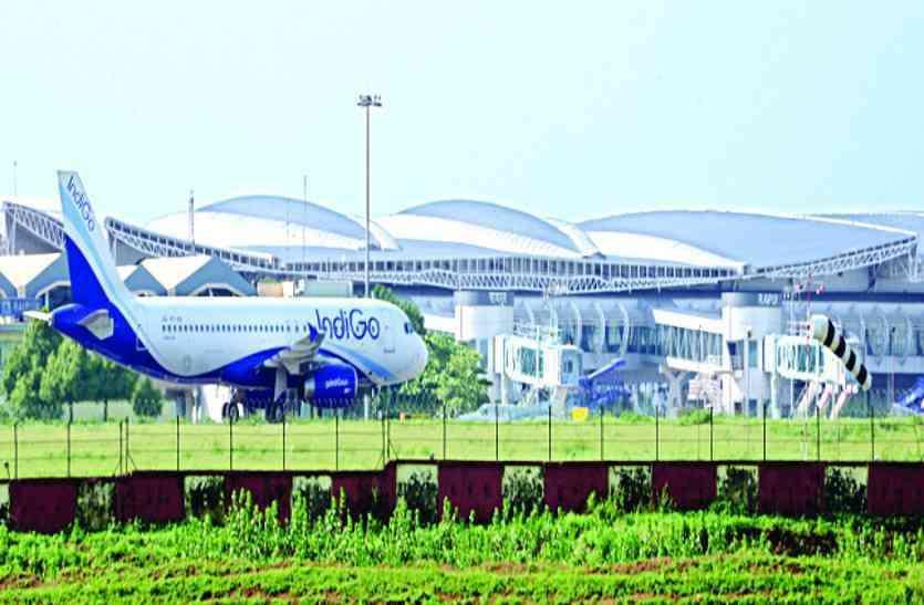 एयरपोर्ट में बढ़ाई गई सुरक्षा, अब तीन स्तरों पर होगी यात्रियों के सामानों की स्क्रीनिंग