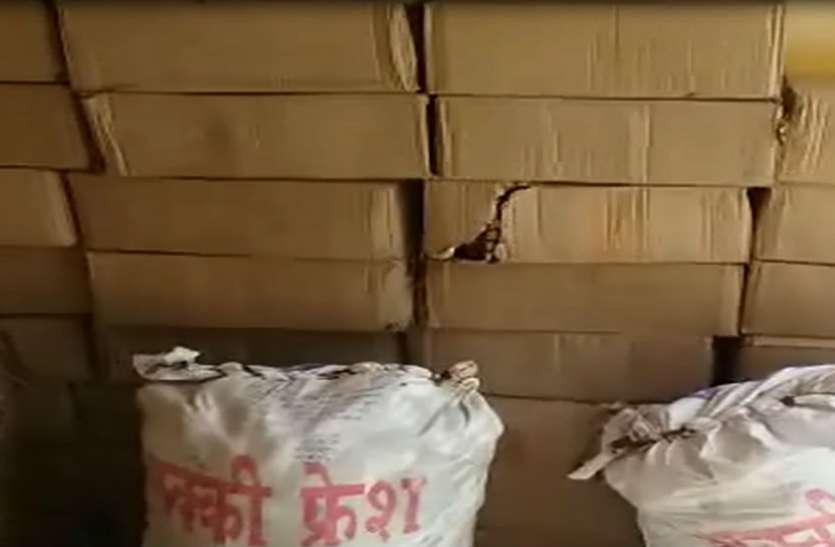 होली से पहले सुहागनगरी में पकड़ी गई लाखों की अवैध शराब, देखें वीडियो