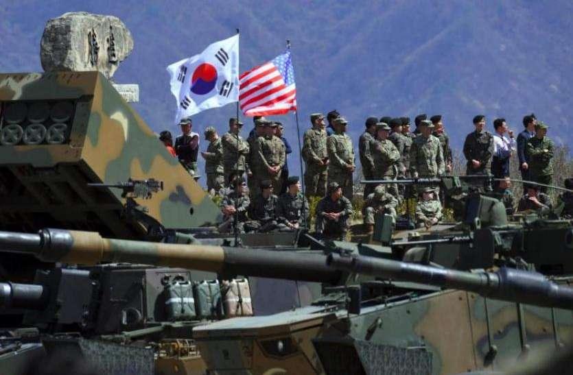 अमरीका-दक्षिण कोरिया सैन्य अभ्यास रोकने पर सहमत, उत्तर कोरिया के साथ मतभेद खत्म करने पर जोर