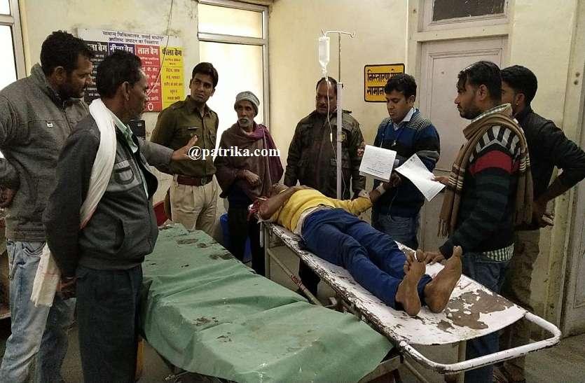 VIDEO: बाघ के हमले में युवक घायल, देवपुरा बांध के पास का मामला