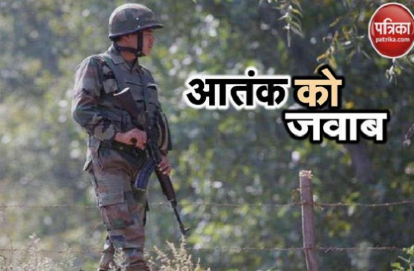 कश्मीर: हंदवारा में सुरक्षाबलों और आतंकियों के बीच तीसरे दिन भी मुठभेड़ जारी, 5 जवान शहीद