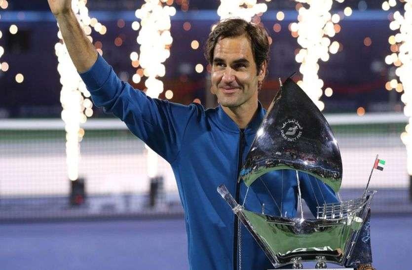 महानतम रोजर फेडरर का खिताबी शतक, ऐसा करने वाले बने पुरुष टेनिस प्लेयर