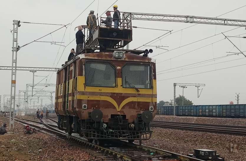 हनुमानगढ़-बठिण्डा रेलखण्ड पर इलेक्ट्रिक ट्रैक तैयार