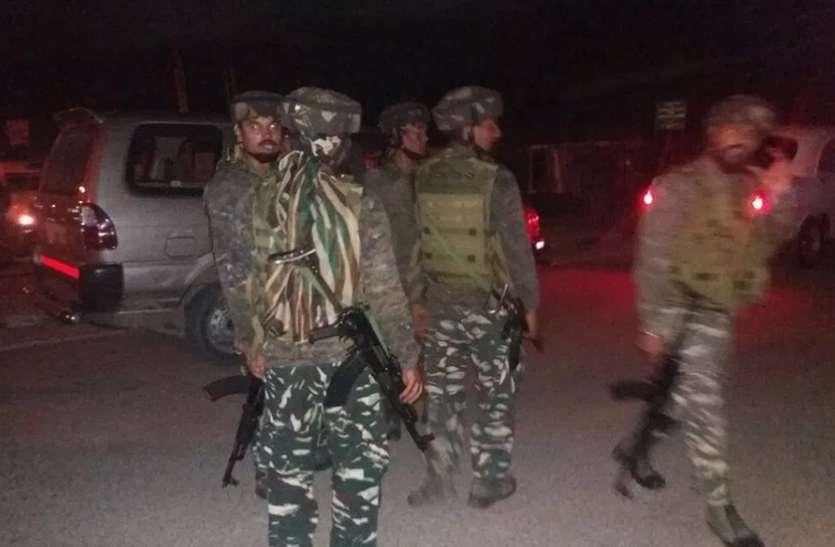 हंदवाड़ा में एनकाउंटर खत्म होते ही पुलवामा में बम धमाका, सुरक्षाबलों ने इलाके को घेरा