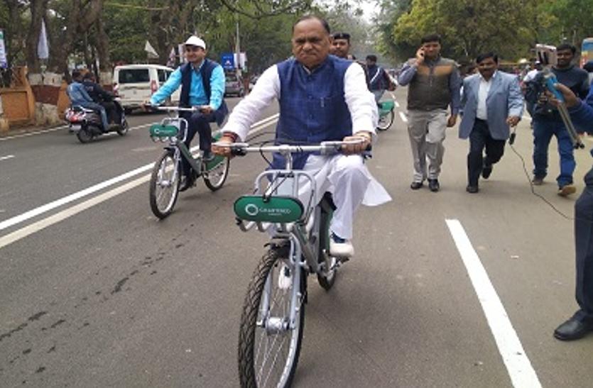 राजधानी रांची में पब्लिक साइकिल शेयरिंग सिस्टम की शुरुआत,सेवा का लाभ लेने के लिए आपको करना होगा यह काम
