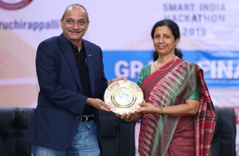 एनआइटी तिरुचि ने की स्मार्ट इंडिया हैकथॉन की मेजबानी
