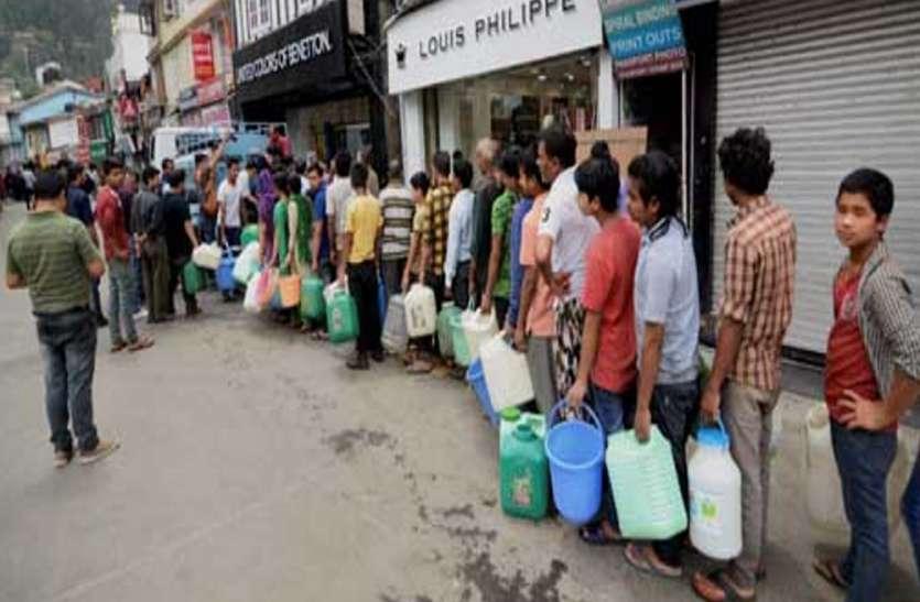 यूपी के इस शहर में पांच लाख लोगों को झेलना पड़ेगा पानी का संकट