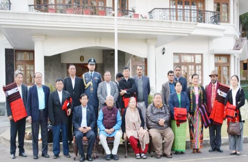 म्यांमार की यूएसडी पार्टी का 11 सदस्यीय प्रतिनिधिमंडल दो-दिवसीय नागालैंड यात्रा पर, राज्यपाल पीबी आचार्या से की मुलाकात