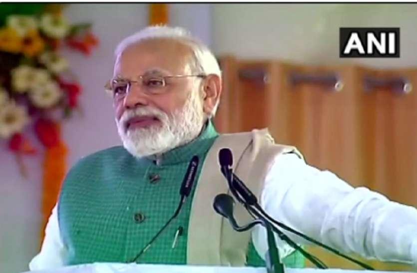 राहुल गांधी के गढ़ में गरजे पीएम मोदी, हमारी सरकार में ही पहला रफाल उड़ेगा