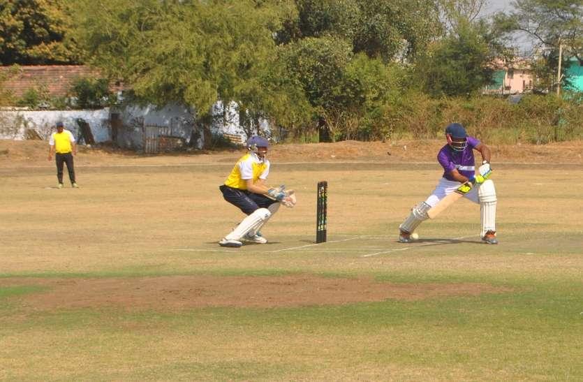 नसरुल्लागंज क्रिकेट टीम ने काका लायंस को सात विकेट से हराया
