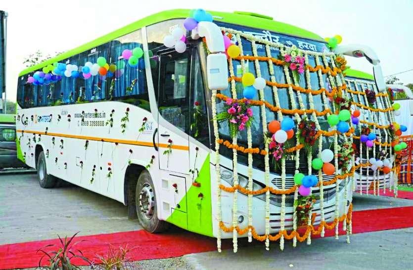 इंदौर से 50 सूत्र-सेवा बसें चलेगी आज से, पढि़ए रूट और किराया