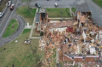 अमरीका: अलबामा में टॉरनेडो से भारी तबाही, 22 लोगों की मौत
