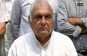 पंजाब भूमि संरक्षण अधिनियम में संशोधन नामंजूर करने के लिए पूर्व मुख्यमंत्री भूपेन्द्र हुड्डा ने राज्यपाल को सौंपा ज्ञापन