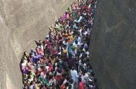 प्राचीन धर्मराजेश्वरमंदिर में लगी भीड़