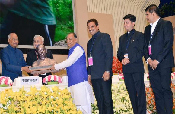 स्वच्छता सर्वेक्षण 2019 में झारखंड को मिला बेस्ट परफार्मिंग स्टेट का पुरस्कार