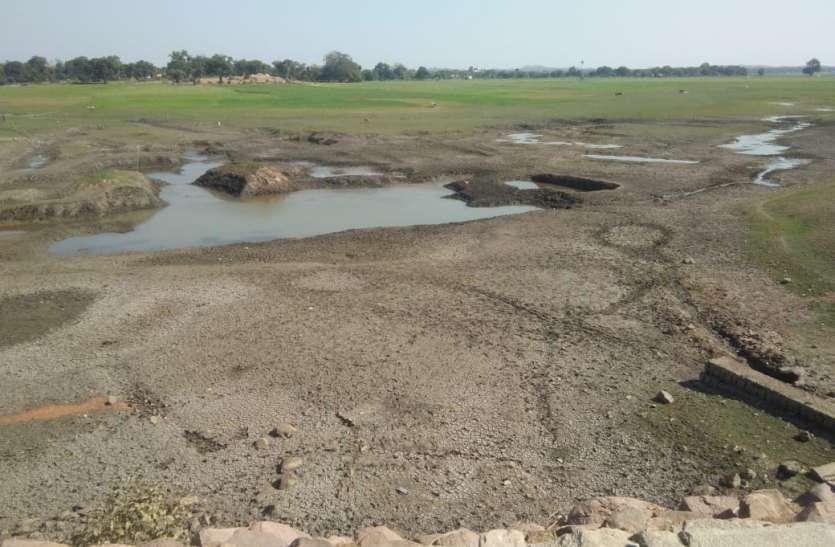 उदयपुर में सूखने लगे जलाशय, गांवो में गहराने लगा जलसंकट , 40 डिग्री पहुंचा तापमान
