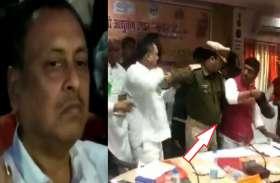BJP विधायक को जूते से पीटने के बाद भाजपा सांसद 3 हजार समर्थकों से बचकर कैसे निकले