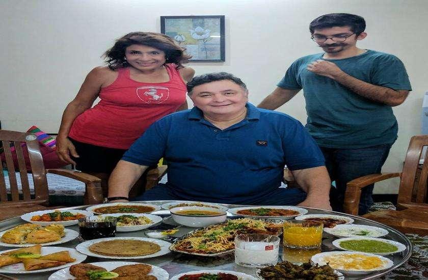 Munaf with Rishi Kapoor