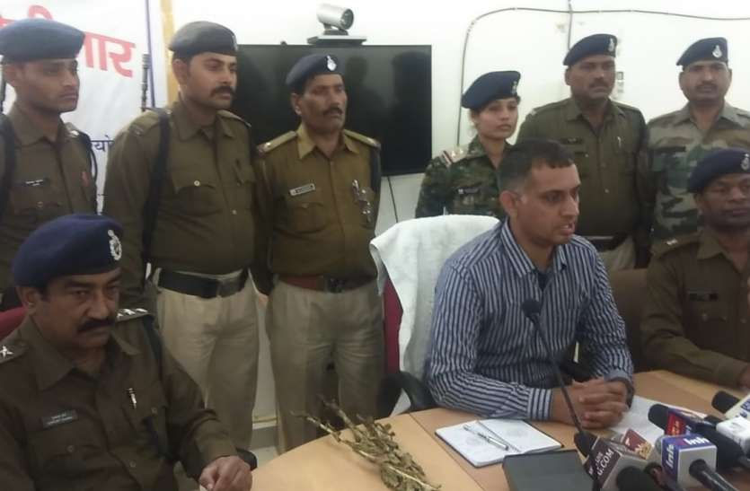 एक करोड़ 10लाख की अफीम पकड़ी,दो गिरफ्तार