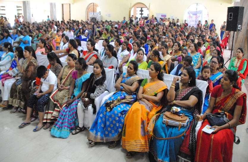 Photo gallery :  अंतर्राष्ट्रीय महिला दिवस पर महिलाओं ने जाना सेहत के लिए व्यंजनों में क्या हो जरूरी