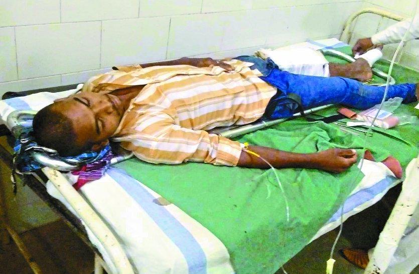 24 घंटे के भीतर जिले में हुए तीन सड़क हादसे, आठ लोग हुए घायल