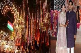 आकाश-श्लोका की शादी के लिए दुल्हन की तरह सजा 'एंटीलिया', तस्वीरें हो रहीं वायरल
