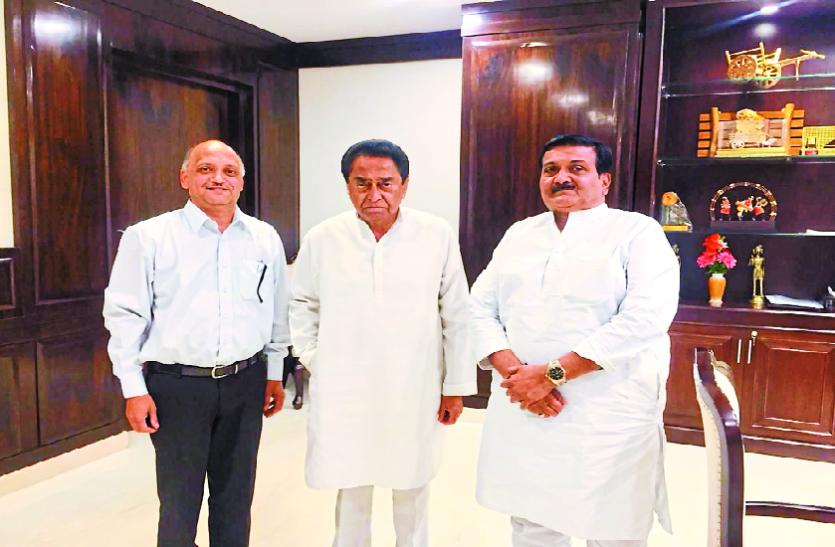 राहुल गांधी से मुलाकात के बाद इंदौर के उद्योगपति को कमलनाथ ने बुलाया
