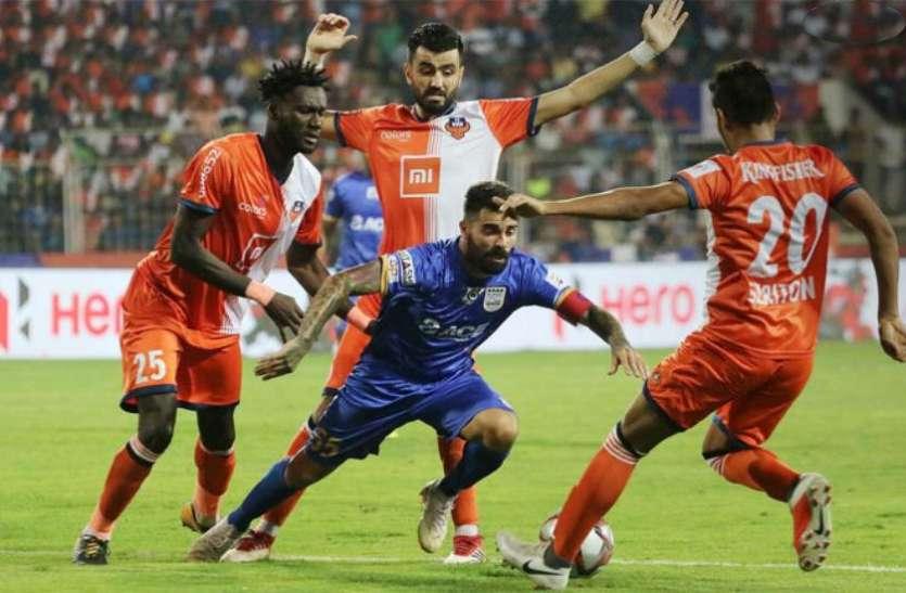 आईएसएल-5 : गोवा ने दूसरे सेमीफाइनल के पहले चरण में मुंबई को 5-1 से दी करारी शिकस्त
