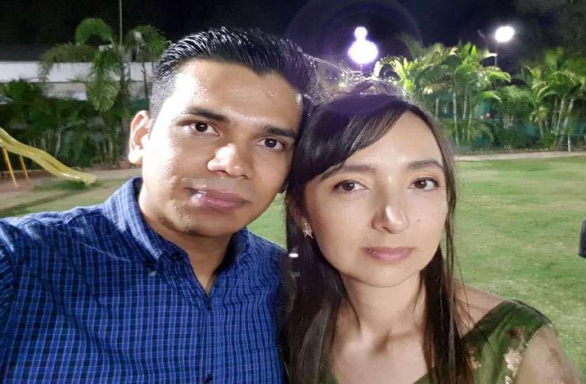 शहर में आई विदेशी दुल्हन, आज जैन रीति रिवाज से होगी शादी
