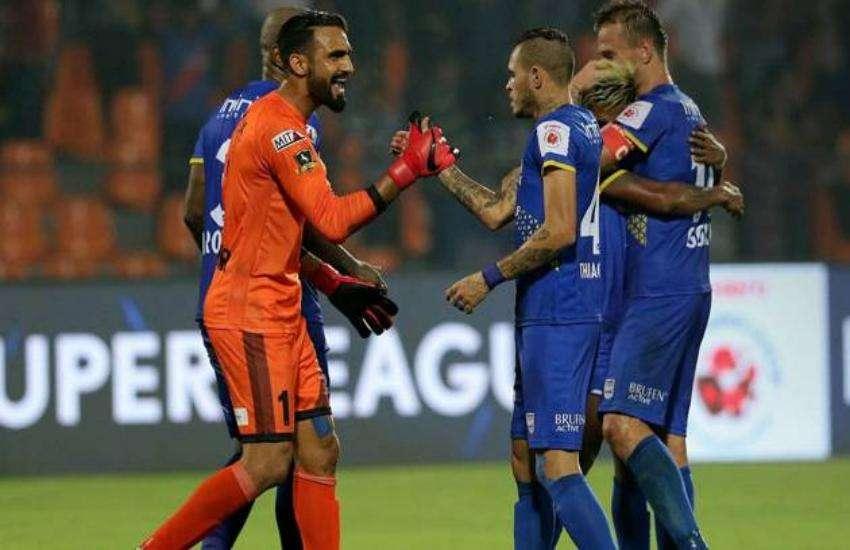 आईएसएल-5 : दूसरे सेमीफाइनल के पहले चरण में गोवा ने मुंबई को 5-1 से दी करारी शिकस्त