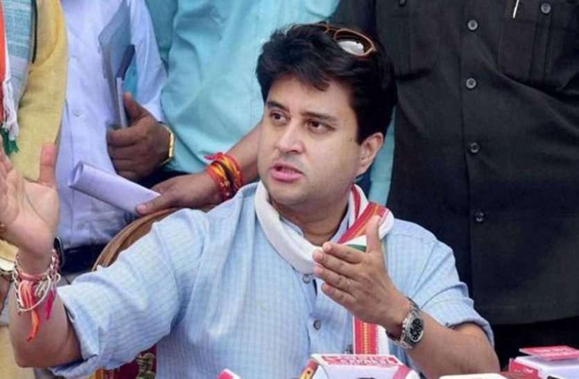 सिंधिया अपने पीए को मुरैना से दिलवाएंगे लोकसभा चुनाव का टिकट !