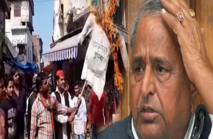 मुलायम सिंह के विरोध की खबर पहुंची हाईकमान तक, इन सपा नेताओं पर बड़ी कार्रवाई