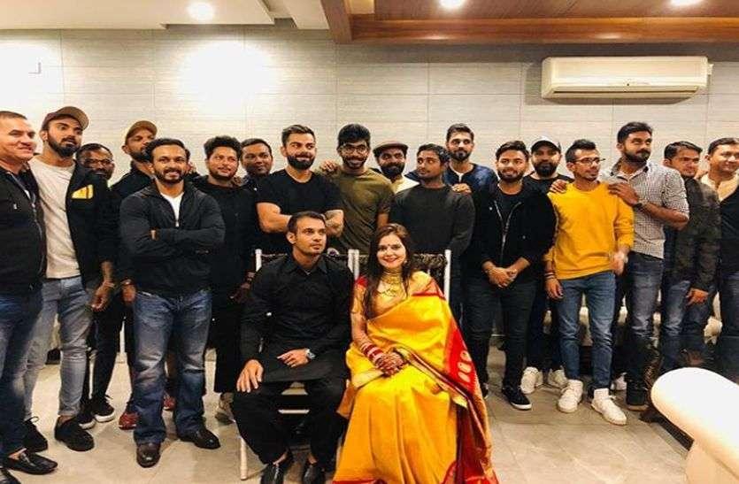 सिद्धार्थ कौल ने की हरसिमरत कौर से शादी, इस शुभ मौके पर पहुंची पूरी टीम इंडिया, दी बधाई