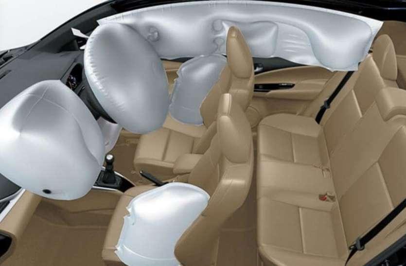 कारों में सुरक्षा को लेकर सरकार का बड़ा कदम, फ्रंट साइड पर डबल एयरबैग अनिवार्य