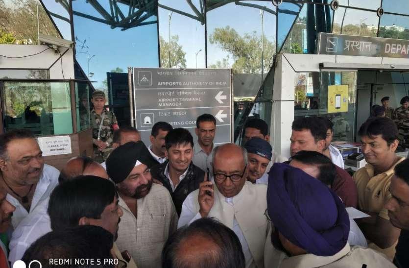 दिग्विजय सिंह से बोले कांग्रेस नेता...अच्छे उम्मीदवार को ही दो टिकट