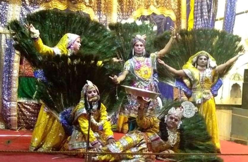 VIDEO: करौली के इस प्रसिद्ध मंदिर में बह रही भक्तिरस की बयार